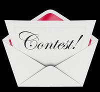 Contest Invitation Entry Form Letter Envelope